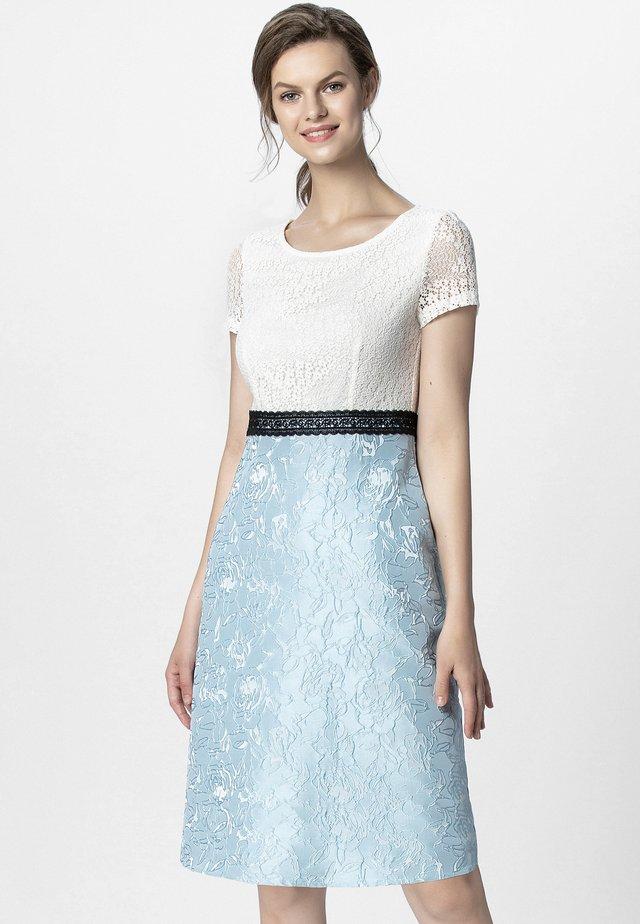 Cocktail dress / Party dress - creamy light blue