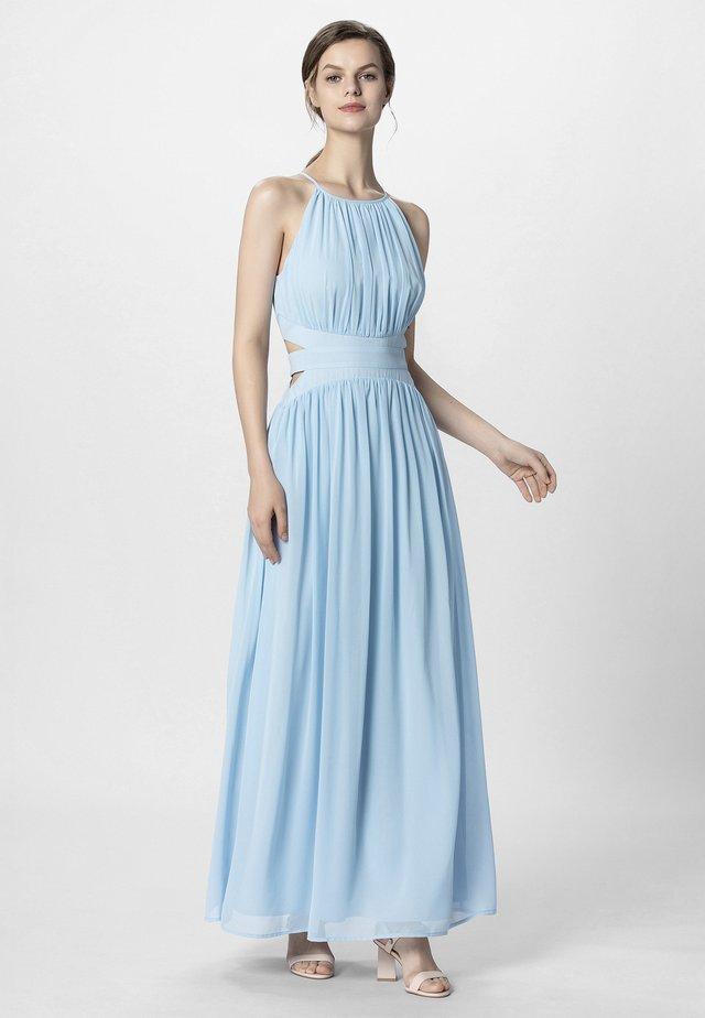 Długa sukienka - light blue