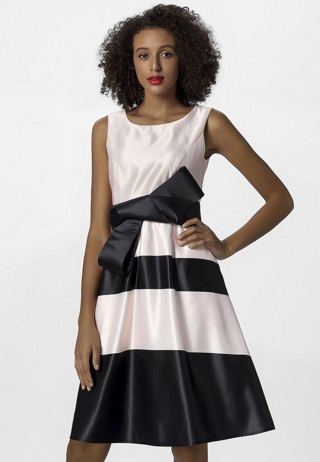 Sukienka letnia - powder/black
