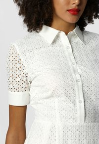 Apart - Robe chemise - creme-turquoise - 3