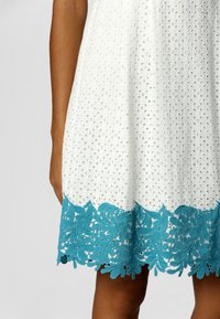 Apart - Robe chemise - creme-turquoise - 4