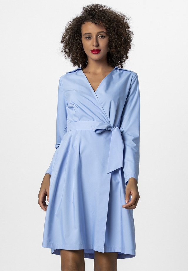 DRESS - Korte jurk - lightblue