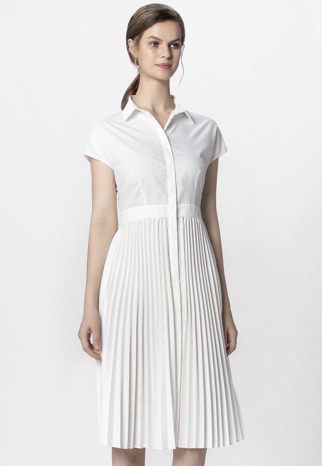 KLEID - Shirt dress - cream