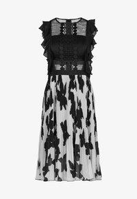 Apart - Vestito elegante - black/cream - 4