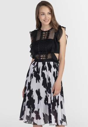 Sukienka koktajlowa - black/cream