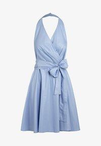 Apart - NECKHOLDER DRESS - Robe d'été - lightblue - 5