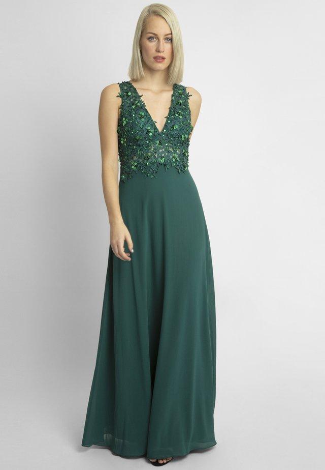 Ballkleid - dark green