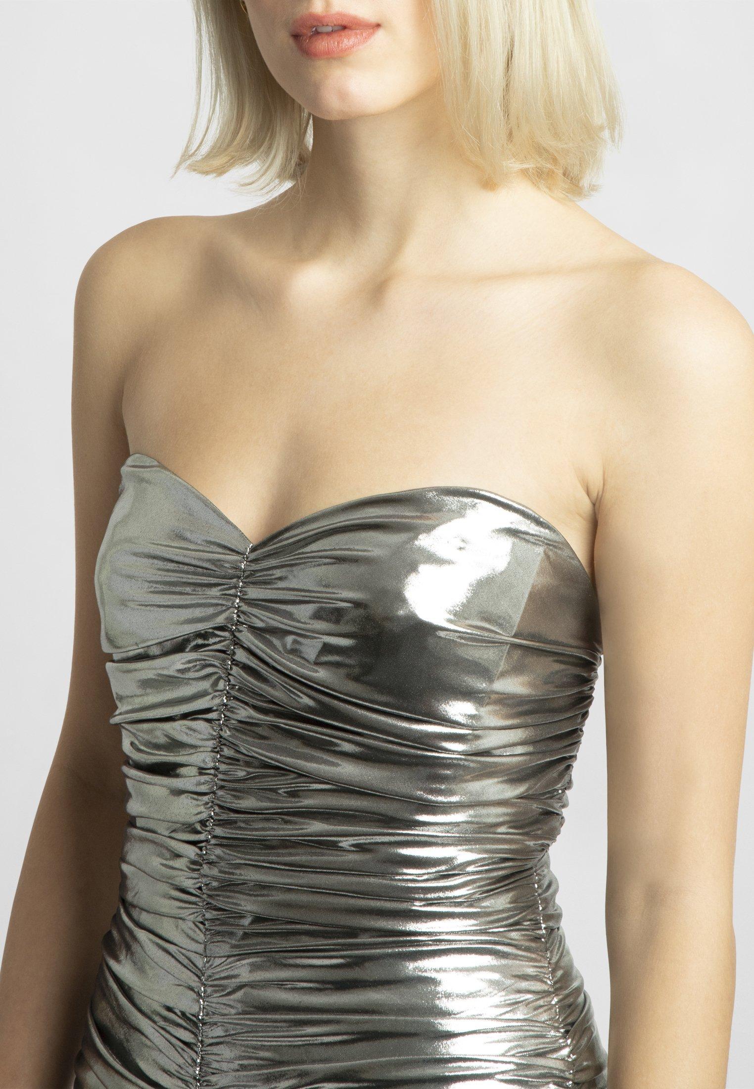 Apart Sukienka koktajlowa - silver