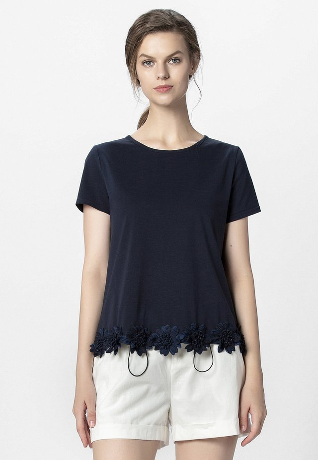 T-shirt imprimé - night blue