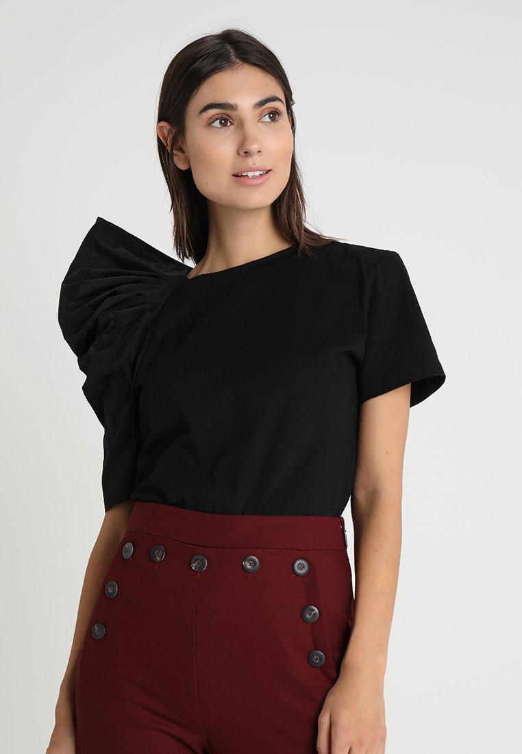 Apart - T-shirt imprimé - black