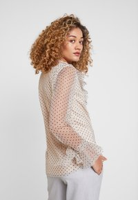 Apart - BLOUSE WITH DOTS - Blouse - nude/black - 3