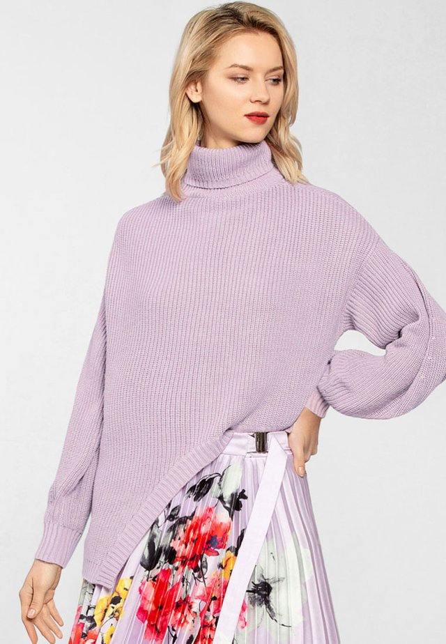 Jersey de punto - lavendel