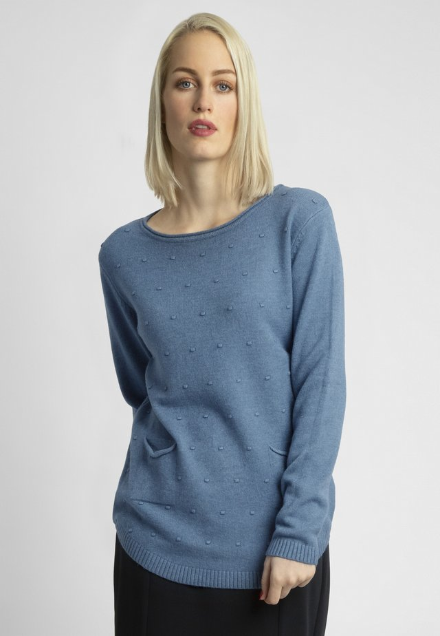 Sweter - jeans blue
