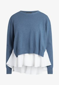 Apart - 2IN1 STRICKPULLOVER - Pullover - jeans blue - 5