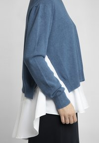 Apart - 2IN1 STRICKPULLOVER - Pullover - jeans blue - 4