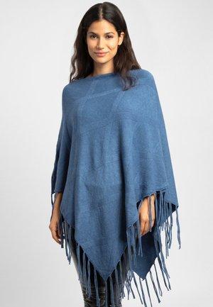 Poncho - blue