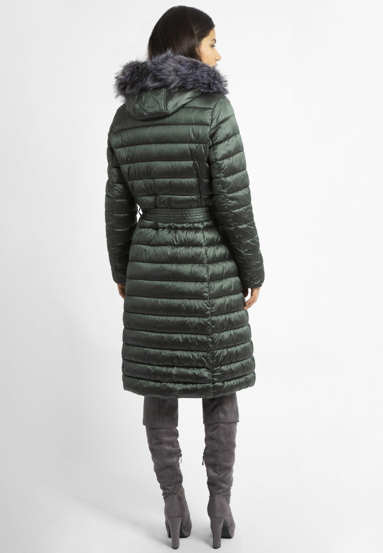Apart Płaszcz zimowy - olive metallic