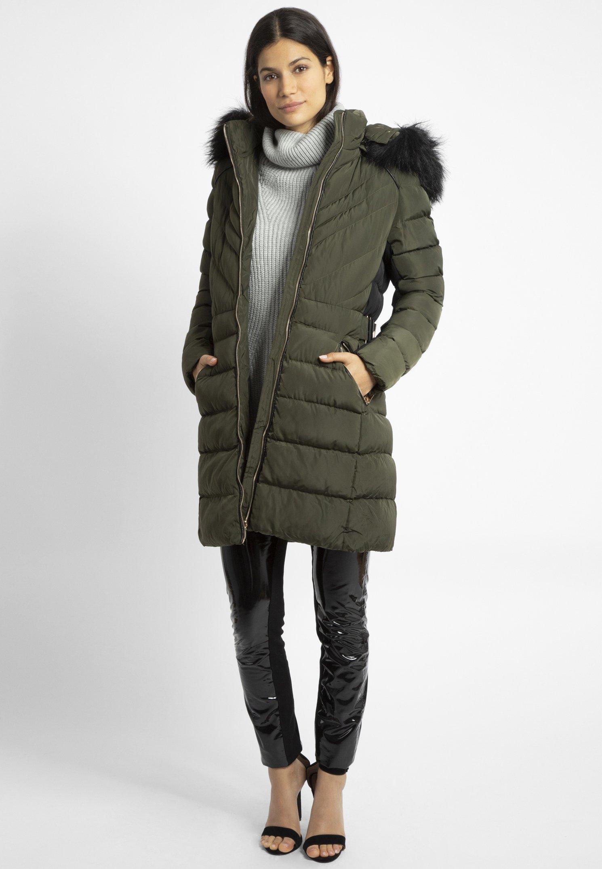 Apart Płaszcz zimowy - olive
