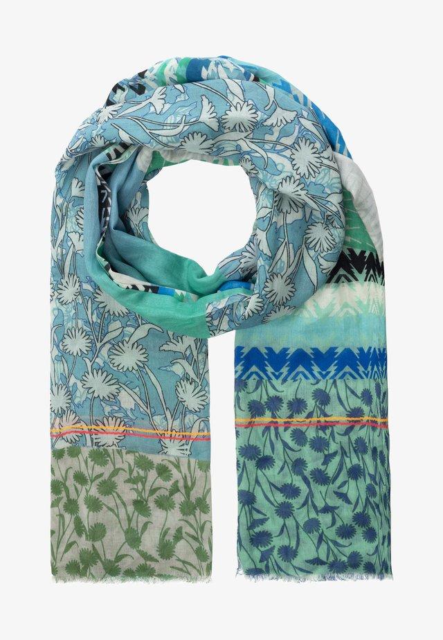 Sjal / Tørklæder - turquoise