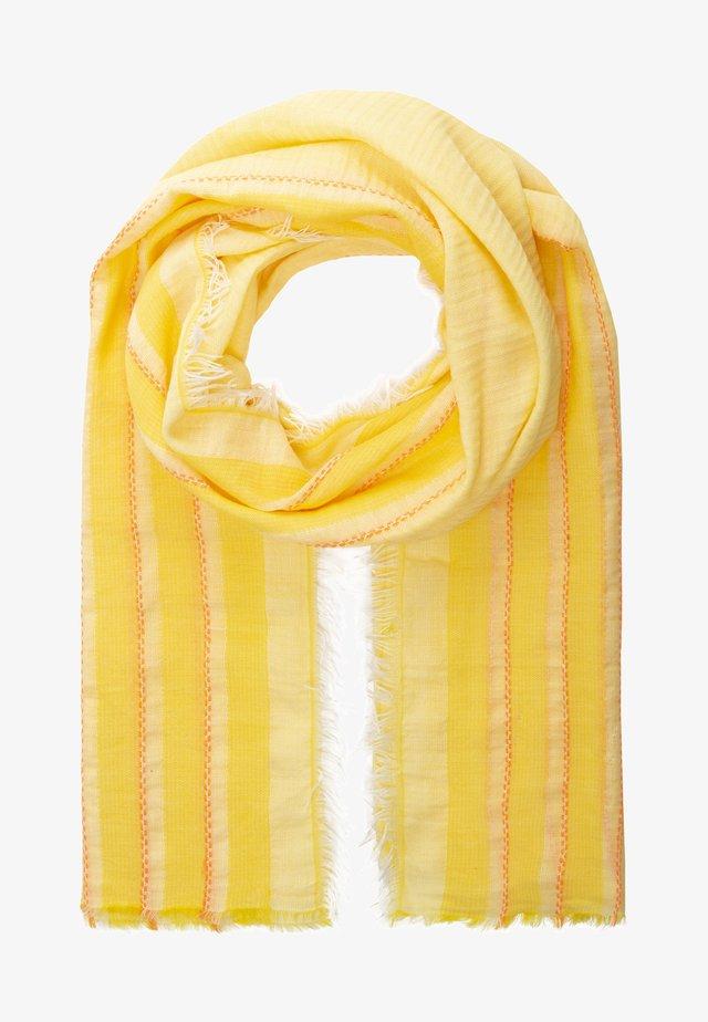 Scarf - yellow/orange