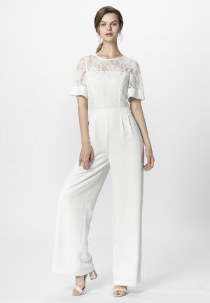 Overall / Jumpsuit /Buksedragter - creme