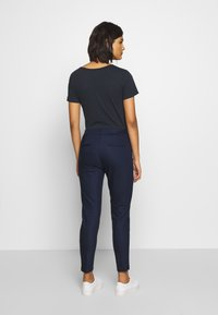 Benetton - TROUSERS - Trousers - navy - 2