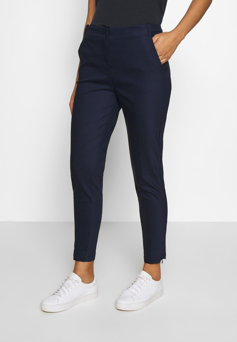Benetton - TROUSERS - Trousers - navy