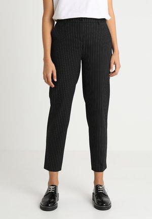 OFFICE PANT - Spodnie materiałowe - black