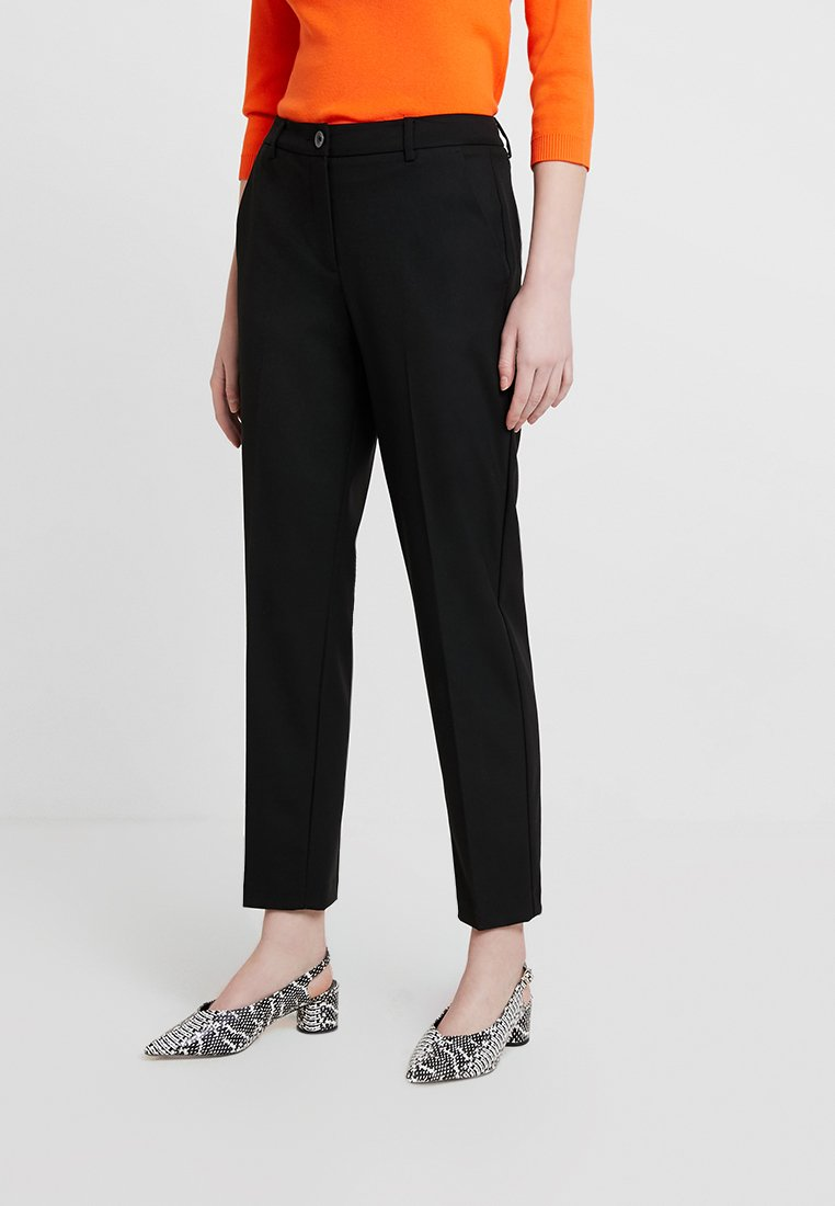 Benetton - OFFICE PANT - Trousers - black