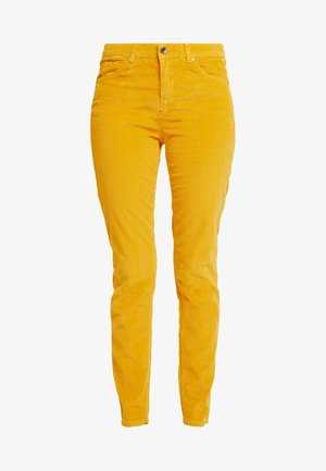 TROUSER - Tygbyxor - mustard yellow