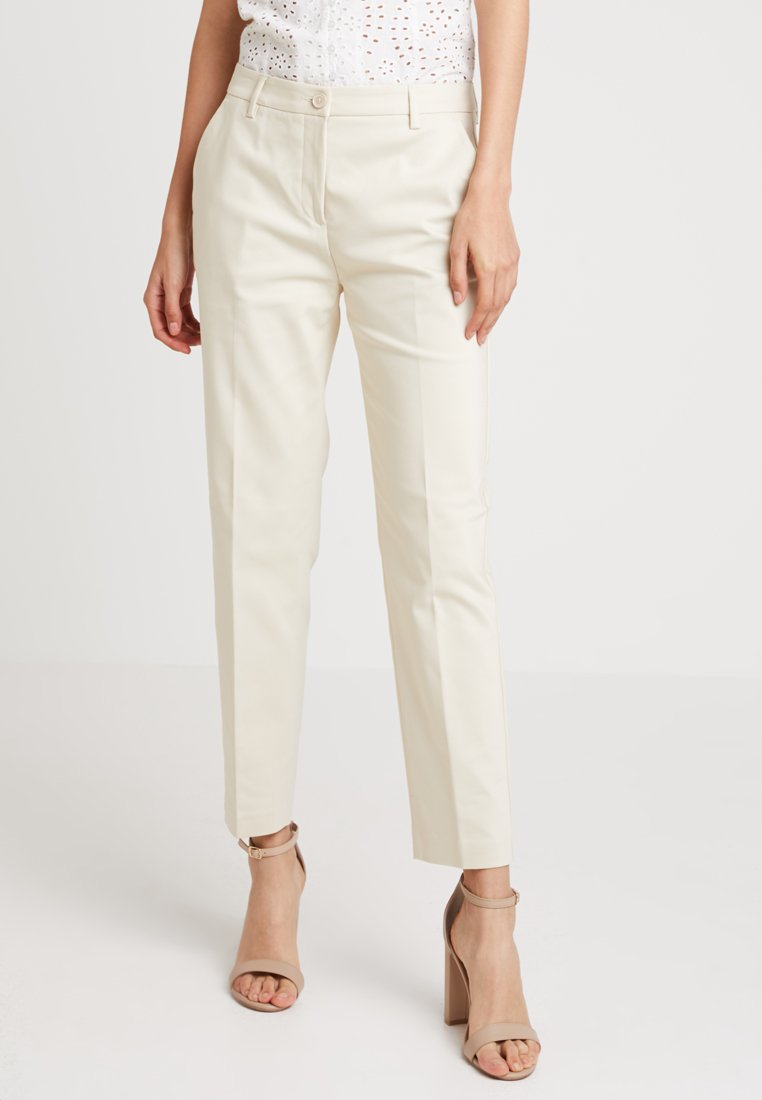 Benetton - OFFICE ANKLE PANT - Broek - beige