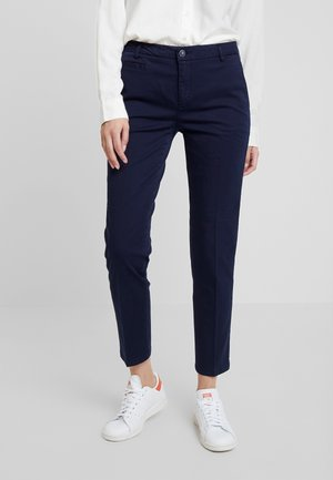 GABARDINE STRAIGHT  - Chinos - navy