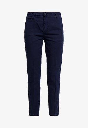 GABARDINE STRAIGHT  - Chino kalhoty - navy