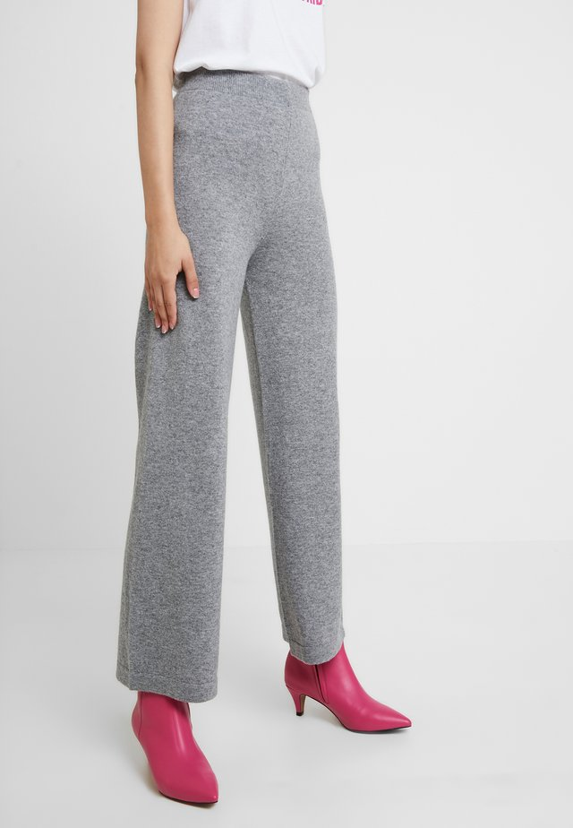 TROUSER - Tygbyxor - grey
