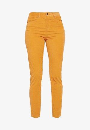 SKINNY TROUSER - Bukse - mustard yellow