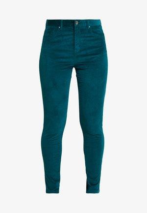 SKINNY TROUSER - Spodnie materiałowe - forest green