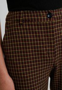 Benetton - COOL BUSINESS TROUSER - Spodnie materiałowe - multi-coloured - 5