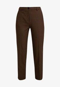 Benetton - COOL BUSINESS TROUSER - Spodnie materiałowe - multi-coloured - 4