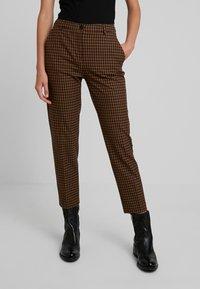Benetton - COOL BUSINESS TROUSER - Spodnie materiałowe - multi-coloured - 0