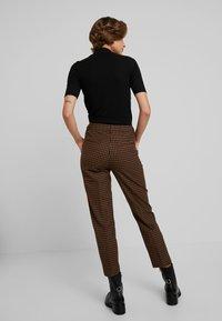 Benetton - COOL BUSINESS TROUSER - Spodnie materiałowe - multi-coloured - 2