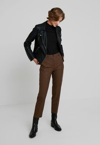 Benetton - COOL BUSINESS TROUSER - Spodnie materiałowe - multi-coloured - 1