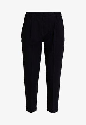 CIGARETTE PANT - Trousers - black