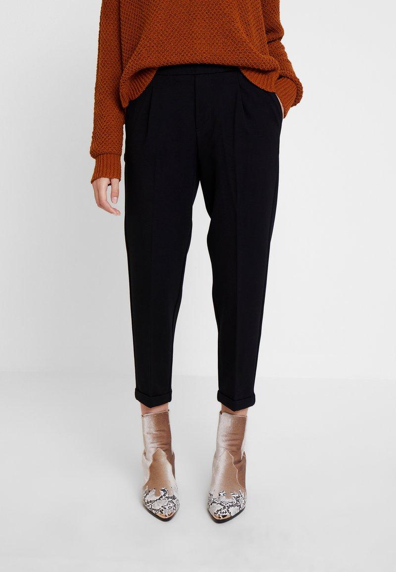 Benetton - CIGARETTE PANT - Kalhoty - black