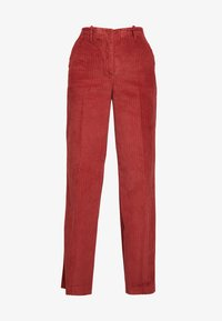 Benetton - WIDE LEG PANT - Trousers - toffee brown - 5