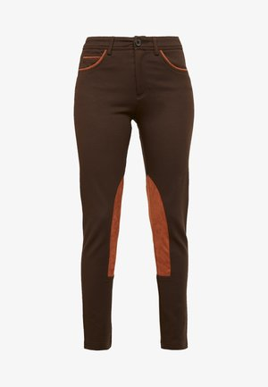 RIDER PANTS - Pantaloni - brown