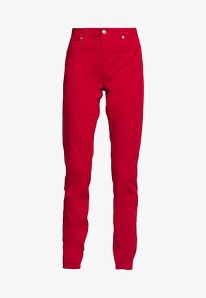 TROUSERS - Skinny džíny - red