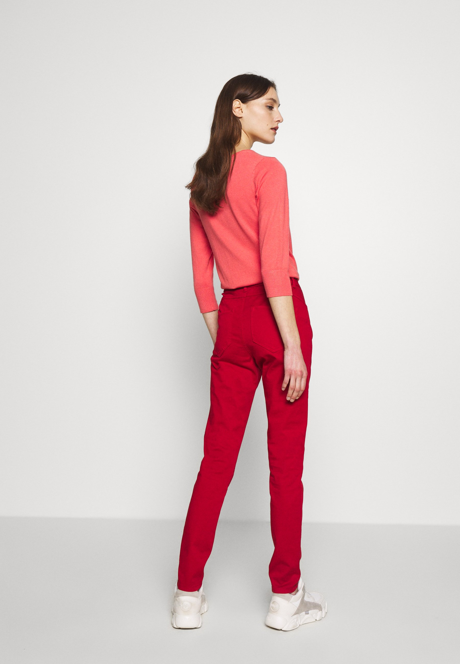 Benetton Trousers - Jeans Skinny Fit Red
