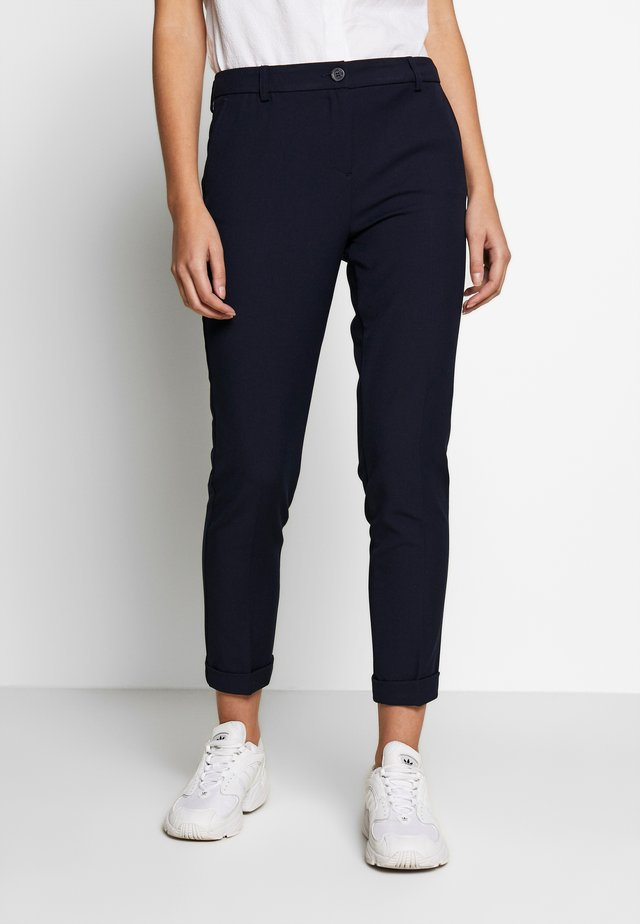 TROUSERS - Pantaloni - navy