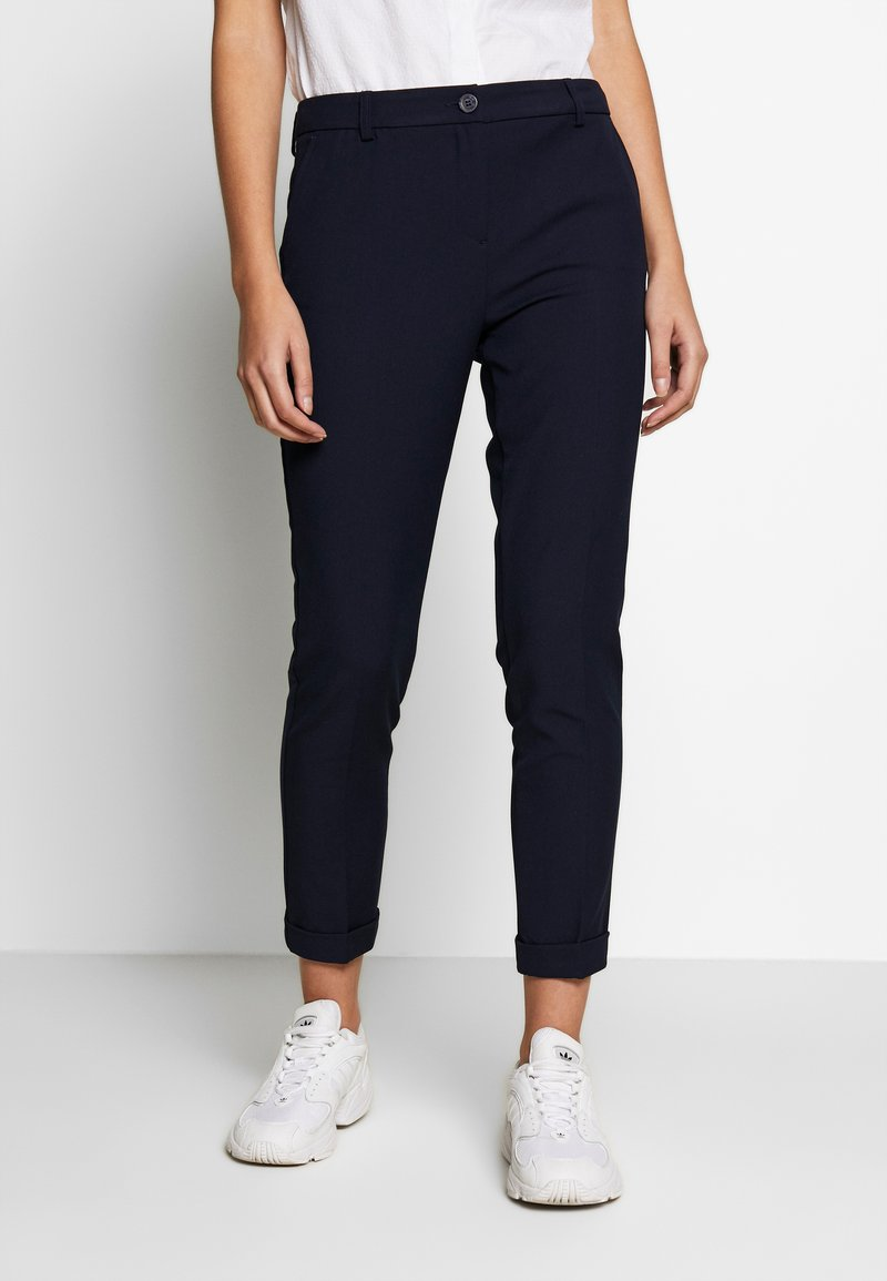 Benetton - TROUSERS - Bukse - navy