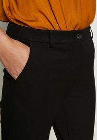 Benetton - TROUSERS - Trousers - black - 4